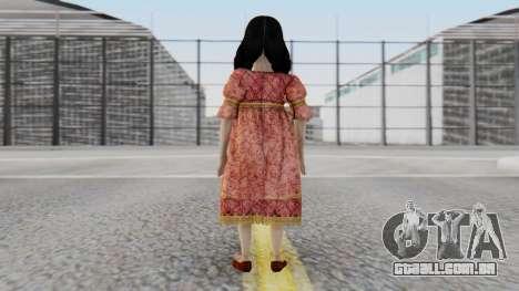 Cereza Bayonetta (child) para GTA San Andreas terceira tela