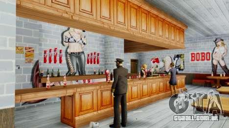New Bar para GTA San Andreas quinto tela