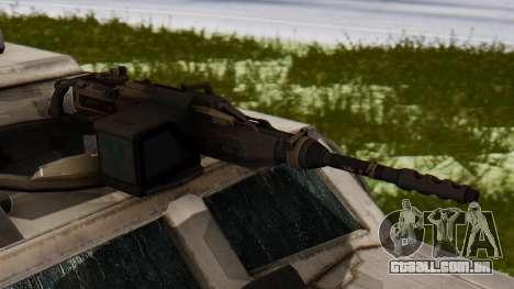 BAE Systems JLTV para GTA San Andreas vista traseira
