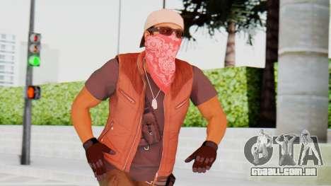 [BF Hardline] Gang Technician para GTA San Andreas