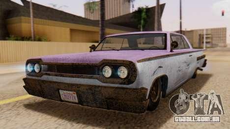 GTA 5 Declasse Voodoo Worn para GTA San Andreas