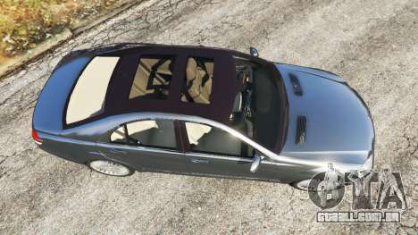 GTA 5 Mercedes-Benz S500 W221 v0.2 [Alpha] voltar vista