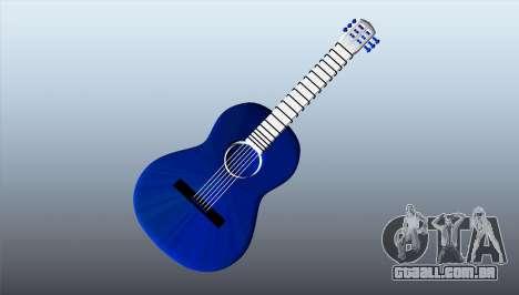 Guitarra clássica para GTA 5