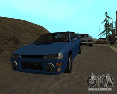 Sultan v1.0 para GTA San Andreas vista direita