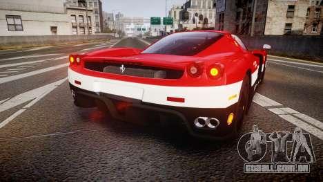 Ferrari Enzo 2002 [EPM] Scuderia Ferrari para GTA 4 traseira esquerda vista
