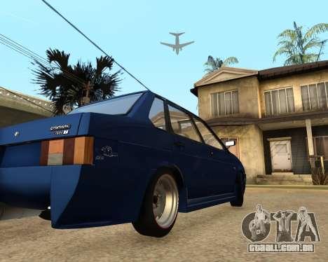 VAZ 21099 para GTA San Andreas vista direita