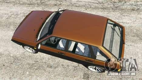 GTA 5 VAZ-21093i voltar vista