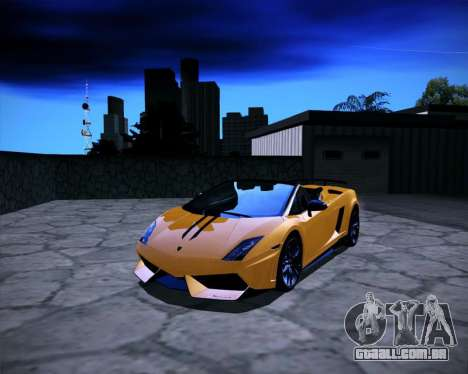 ENB Benyamin for Low PC para GTA San Andreas terceira tela