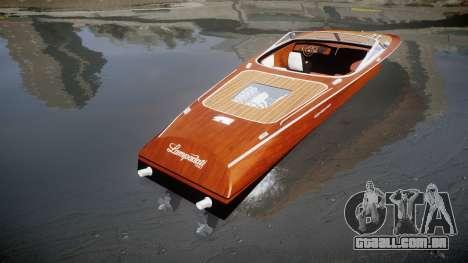 GTA V Lampadati Toro para GTA 4 traseira esquerda vista