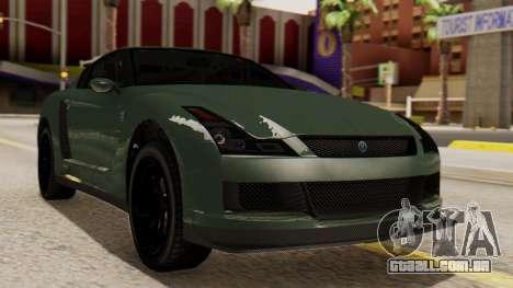 GTA 5 Annis Elegy RH8 SA Style para GTA San Andreas