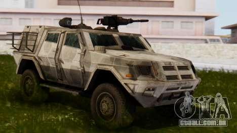 BAE Systems JLTV para GTA San Andreas
