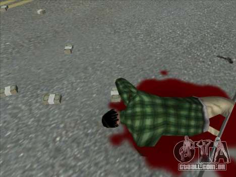 Weapons on the Ground para GTA San Andreas por diante tela