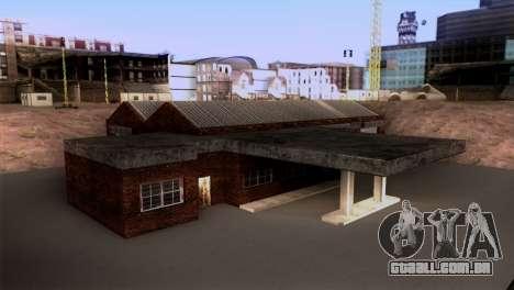 Novo LSPD garagem para GTA San Andreas segunda tela