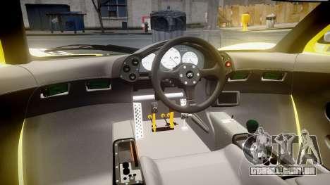 McLaren F1 1993 [EPM] Harrods para GTA 4 vista de volta
