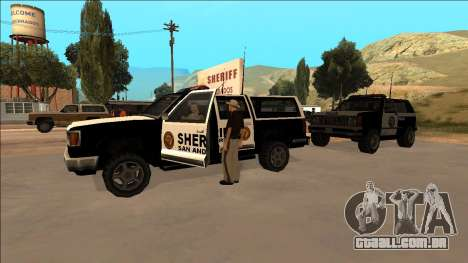 DLC Big Cop and All Previous DLC para GTA San Andreas por diante tela