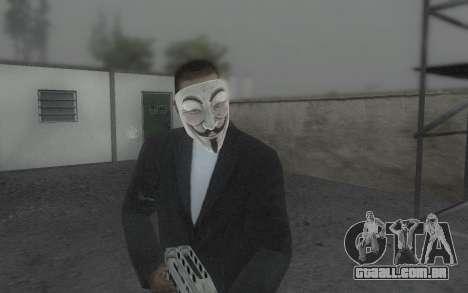 DayZ Mask para GTA San Andreas terceira tela
