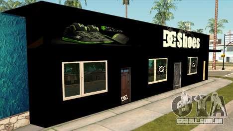 New Store DC v2 para GTA San Andreas segunda tela