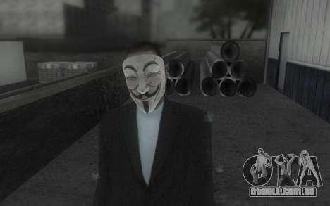 DayZ Mask para GTA San Andreas