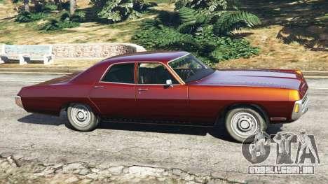 GTA 5 Dodge Polara 1971 vista lateral esquerda