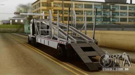 GTA 5 MTL Packer Driving para GTA San Andreas esquerda vista
