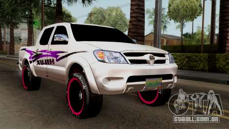 Toyota Hilux 2014 para GTA San Andreas