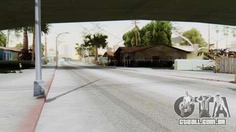 Winter Grove Street para GTA San Andreas segunda tela