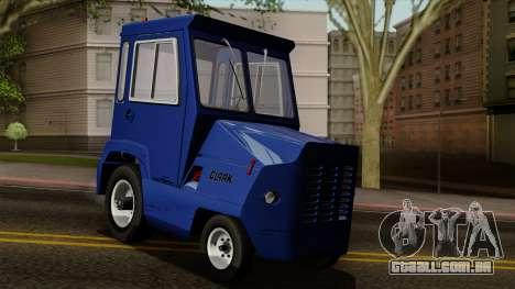 Clark CT-50D Tug para GTA San Andreas