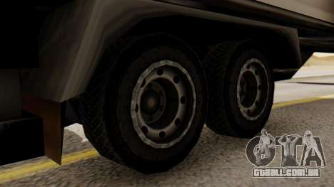 Artict2 Coal 1.0 para GTA San Andreas traseira esquerda vista