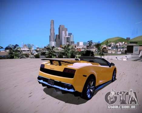 ENB Benyamin for Low PC para GTA San Andreas segunda tela