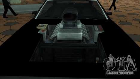 Muscle-Clover [BETA V.1] para GTA San Andreas traseira esquerda vista