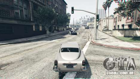 GTA 5 Trabalho gadgets no carro JB700 nono screenshot