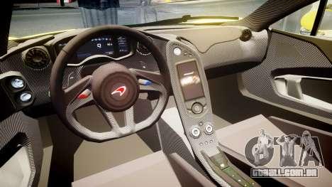 McLaren P1 2014 [EPM] Harrods GTR para GTA 4 vista de volta