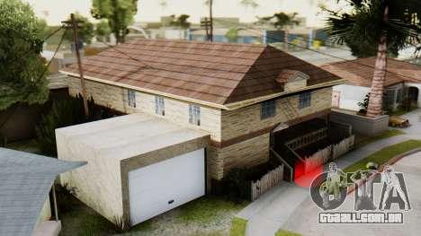 O novo interior da casa do CJ para GTA San Andreas segunda tela