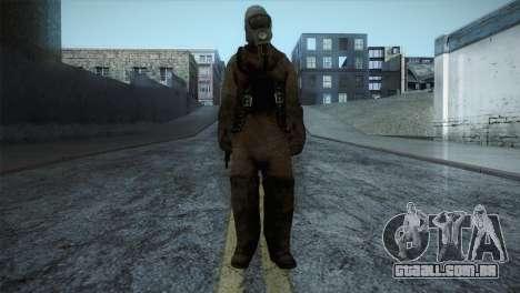 Order Soldier2 from Silent Hill para GTA San Andreas segunda tela