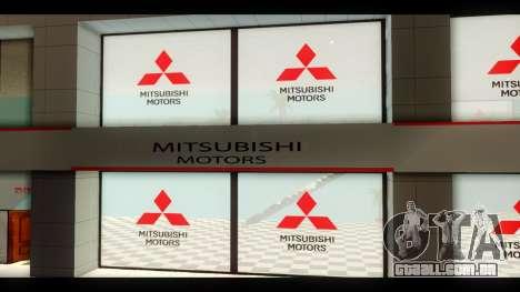 A Mitsubishi Motors Concessionária De para GTA San Andreas terceira tela