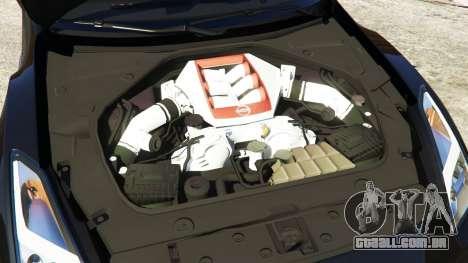 GTA 5 Nissan GT-R Nismo 2015 volante