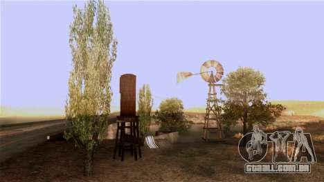 A textura das árvores do BISPO para GTA San Andreas por diante tela