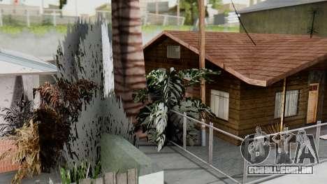 Winter Grove Street para GTA San Andreas terceira tela