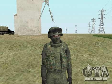 Pak combatentes das tropas especiais de GRU para GTA San Andreas sétima tela