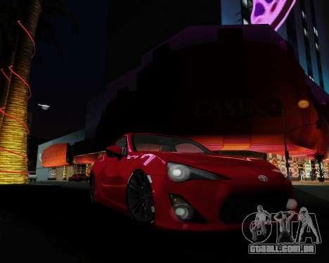 ENB Pizx para GTA San Andreas sexta tela