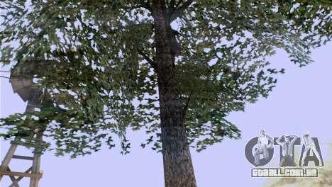 A textura das árvores do BISPO para GTA San Andreas segunda tela