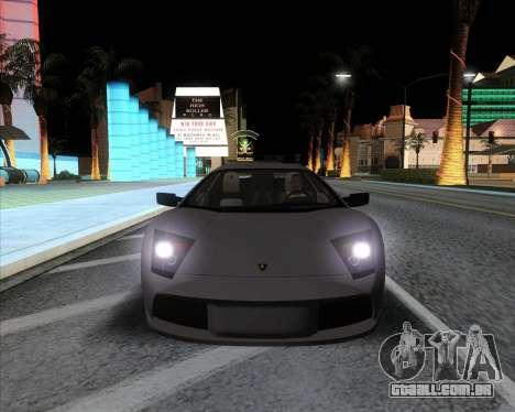 Andromax ENB para GTA San Andreas terceira tela