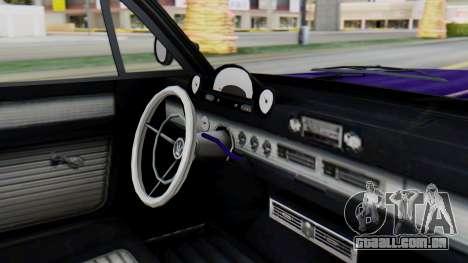 GTA 5 Declasse Voodoo IVF para GTA San Andreas vista direita