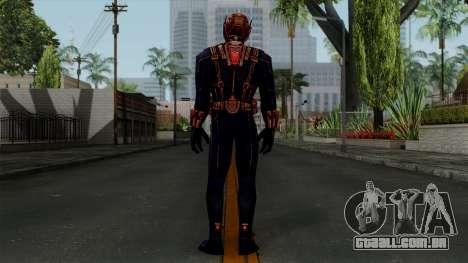 Ant-Man Black para GTA San Andreas terceira tela