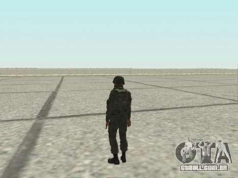 Pak combatentes das tropas especiais de GRU para GTA San Andreas twelth tela