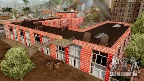 Motel Jefferson para GTA San Andreas por diante tela