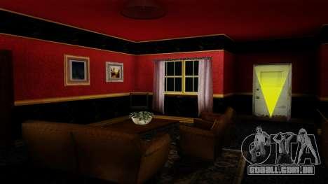 Retextured CJ de casa em estilo de Scarface para GTA San Andreas terceira tela