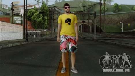 GTA 5 Online Wmygol2 para GTA San Andreas segunda tela