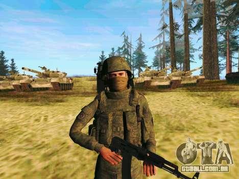 Pak combatentes das tropas especiais de GRU para GTA San Andreas
