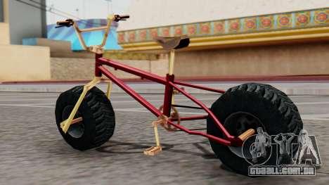 Monster BMX para GTA San Andreas esquerda vista